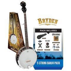 Bryden 5-String Banjo Package - Tobacco Sunburst