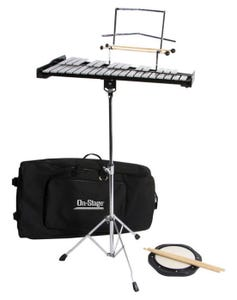OnStage BSK2500 Bell Percussion Kit w/Stand and Bag
