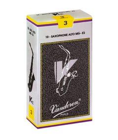 Vandoren V12 Alto Saxophone Reeds - Box of 10 - Strength 2.5