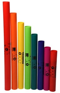 Boomwhackers 8-Note Diatonic C-Major Scale Set