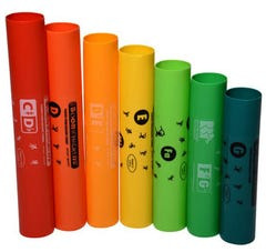 Boomwhackers 7-Note Treble Extension Set