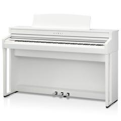 Kawai CA59 Digital Piano w/Matching Bench - White Satin