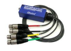 Radial Catapult Mini TX Compact Cat 5 Analog Snake (Female XLRs)