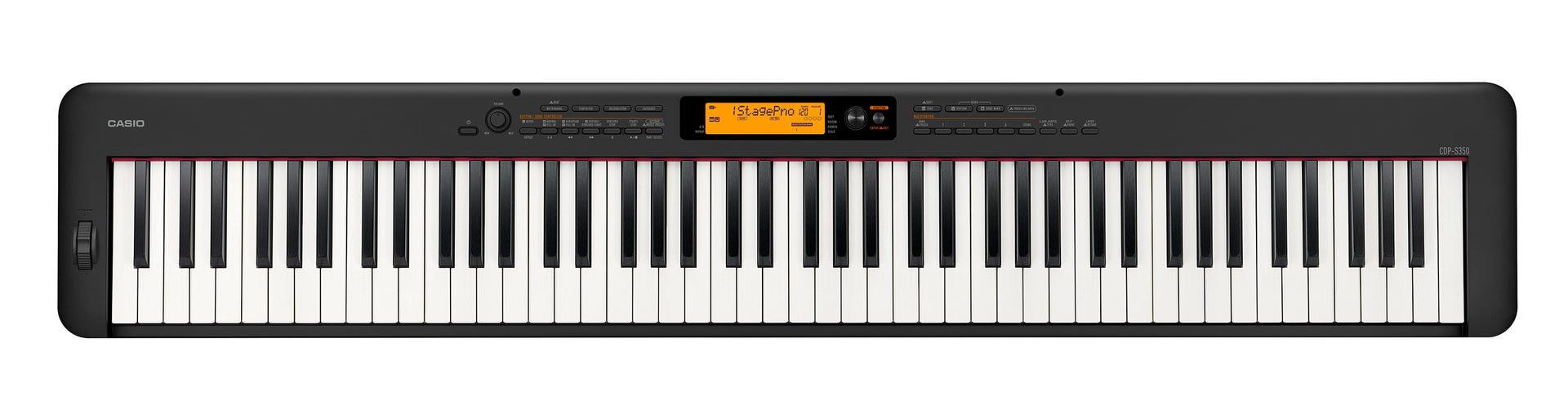 Casio CDP-S350 Digital Piano - Black