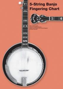 5 String Banjo Fingering Chart