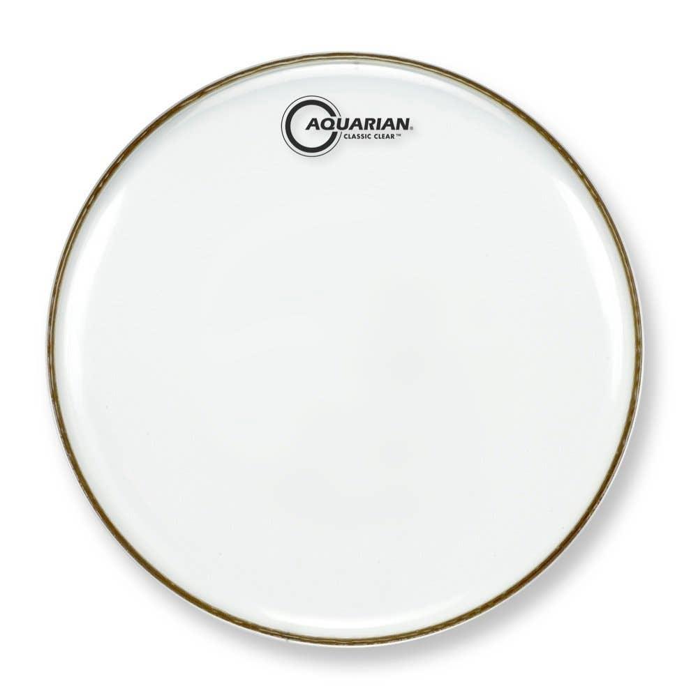 Aquarian 12 Inch Drum Head Clear Single Ply Cc12 Classic Clear