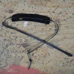Colonial Leather Ukulele Leather Strap