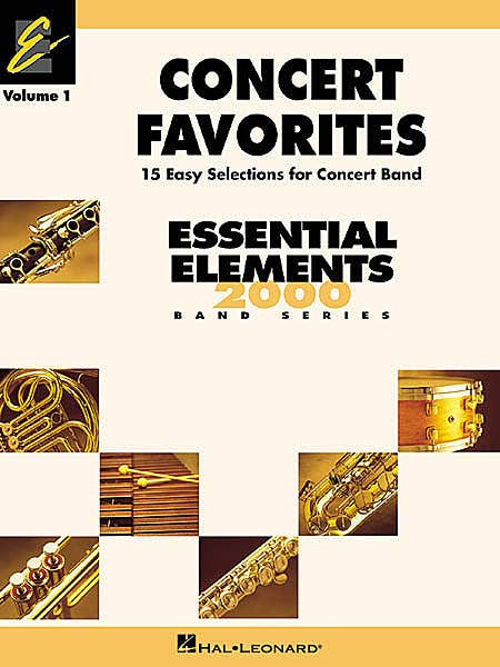 CONCERT FAVOURITES BK 1 CONDUCTOR / SWEENEY (HAL LEONARD)