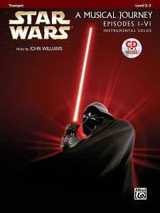 STAR WARS EPISODE I-IV TRUMPET BK/CD / WILLIAMS JOHN (ALFRED)