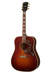 Gibson 1960 Hummingbird Adjustable Saddle w/Case - Heritage Cherry Sunburst