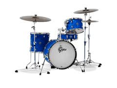 Gretsch Drums Catalina Club 4pc Drum Kit - Shell Pack - Blue Satin Flame