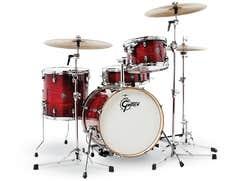 Gretsch Drums Catalina Club Drum Kit - Shell Pack - Gloss Crimson Burst