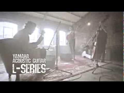 Yamaha LL16ARE Acoustic Electric Guitar w/Hard Bag - Dark Tint