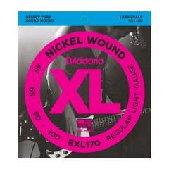 Daddario EXL170 nickel wound bass string set 45-100