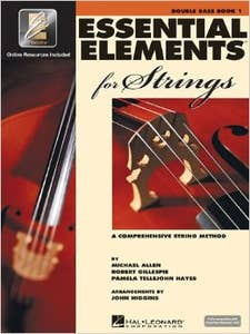 essential elements for strings BK 1 DOUBLE BASS /  (HAL LEONARD)