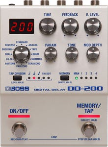 Boss DD200 Digital Delay Pedal