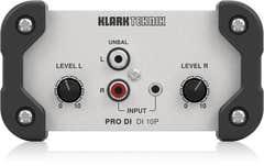 Klark Teknik DI10P Passive DI Box (Stereo in/Mono out)