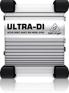 Behringer DI100 Ultra-DI Active DI BOX