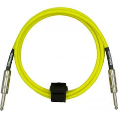 Dimarzio Braided Instrument Cable 10ft (3m) - Neon Yellow