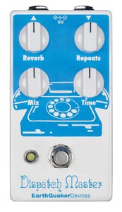 EarthQuaker Devices Dispatch Master v2 Digital Delay Pedal