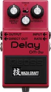 Boss DM-2W Delay Waza Craft Special Edition (DM2W)