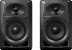 """Pioneer DM-40 4"""" Compact Desktop Monitor Speakers - Black (Pair)"""