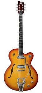 Duesenberg Gran Majesto Electric Guitar w/case - Vintage Burst