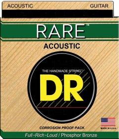 DR Strings 'RARE' Acoustic Guitar String Set - 12-54