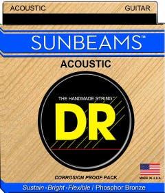 DR Strings 'Sunbeam' Acoustic Guitar Strings - 12-54