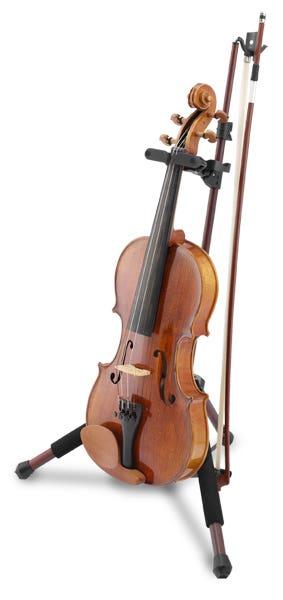 Hercules Auto-Grab Violin/Viola Stand