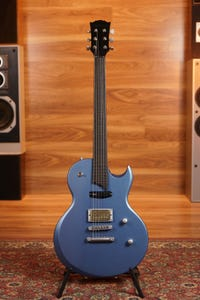 Vance Custom S2 Electric Guitar w/Case - Hudson Blue