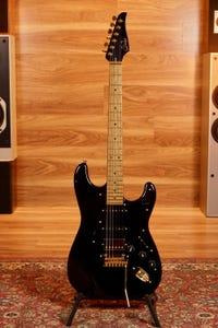 Suhr Mateus Asato Classic S Antique Signature Guitar - Classic Black