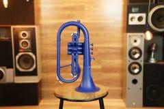 Zo Plastic Flugelhorn - Blue Blast