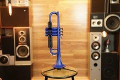 Zo Plastic Trumpet - Blue Blast