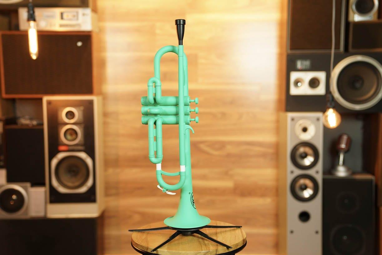 Zo Plastic Trumpet - Screamin' Green