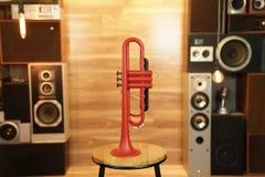 Zo Plastic Trumpet - Racing Red