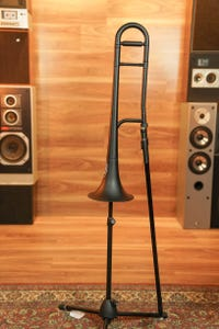 Zo Plastic Trombone - Empire Black