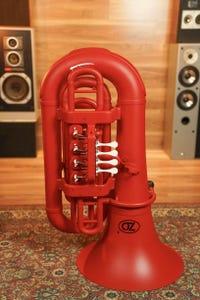 Zo Plastic Tuba - Racing Red