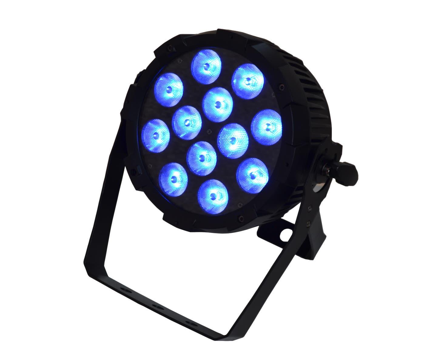 Event Lighting PARRGBW12X8 LED Flat Par