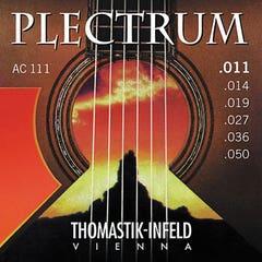 Thomastik Plectrum Phosphor Bronze Acoustic Guitar Strings - 11-50