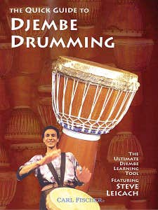 GUIDE TO DJEMBE DRUMMING DVD / LEICACH S (WARNER BROS)