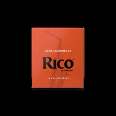 Rico Alto Sax Reeds - Box of 10 - Strength 2.5
