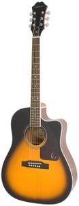 Epiphone AJ-220SCE Acoustic Electric Guitar - Vintage Sunburst