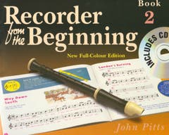 RECORDER FROM THE BEGINNING BOOK 2 BOOK/CD / PITTS (CHESTER)