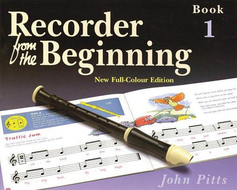 Recorder From The Beginning - Pupil's Book 1 (Pitt)