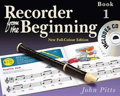 RECORDER FROM THE BEGINNING BOOK 1 - BOOK/CD NEW ED / PITTS (CHESTER)