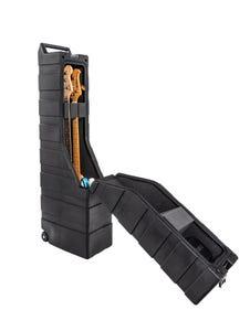 ENKI Cases AMG-2B Dual Electic Bass Tour Case w/Wheels
