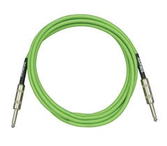 Dimarzio Braided Instrument Cable 10ft (3m) - Neon Green