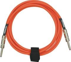 Dimarzio Braided Instrument Cable 10ft (3m) - Neon Orange