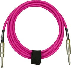 Dimarzio Braided Instrument Cable 10ft (3m) - Neon Pink